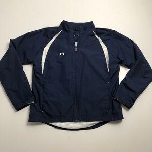 Under Armour Spring Windbreaker Blue Jacket